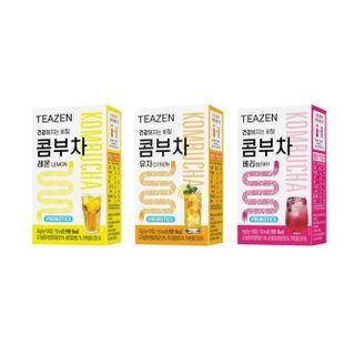 TEAZEN - Kombucha - 3 Flavors