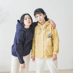 Echo Forest - Embroidered Hooded Jacket