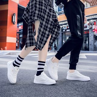 MARTUCCI - Couple Matching Lace Up Sneakers