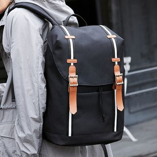GADOT - Striped Laptop Backpack