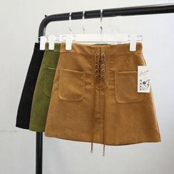 Phantasy - Minifalda con encaje