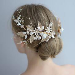 Neostar - 婚礼仿珍珠树枝发夹