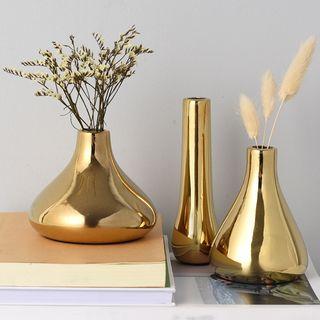 miss house - Metallic Ceramic Vase