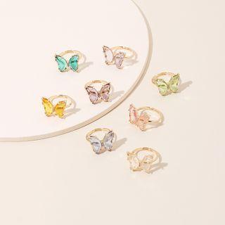 Vonluxe(ヴォンラクゼ) - Butterfly Open Ring