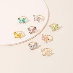 Vonluxe - Butterfly Open Ring