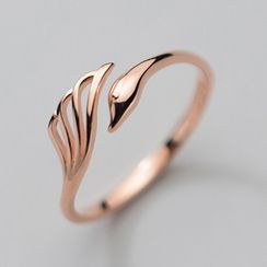 A'ROCH(エーロック) - Swan Sterling Silver Open Ring