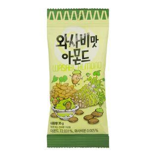 Tom's Farm - Dry Roasted Wasabi Almond 35g