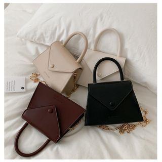 Perlin - Top Handle Flap Crossbody Bag