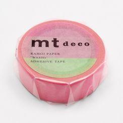 mt - mt Masking Tape : mt 1P Fluorescent Gradation Pink x Green
