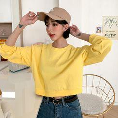 MERONGSHOP - Cropped Sweatshirt in 16 Colors