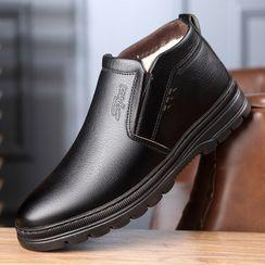 Kayne H - Genuine Leather Slip-On Dress Shoes