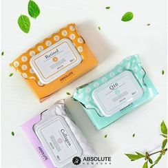 Absolute - Makeup Cleansing Tissue (3 Types) 50ct