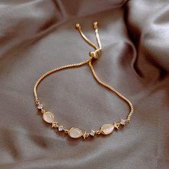 True Glam - 仿珍珠手链
