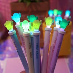 Chichat - Cactus Pen with Light - 0.5 mm