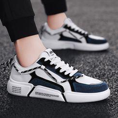 Chaoqi - 拼色休閒鞋