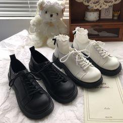 DURAC(デュラック) - Lace-Up Platform Oxford Shoes