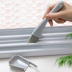 Honeyfluff - 窗缝清洁刷连簸箕