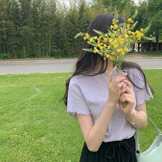 CHERRYKOKO(チェリーココ) - Lettuce-Edge Punch T-Shirt