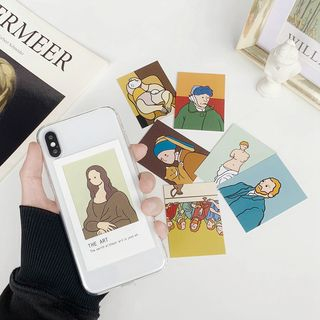 Hachi - Famous Painting Frame Mobile Case - iPhone XS Max / XS / XR / X / 8 / 8 Plus / 7 / 7 Plus / 6S / 6S Plus