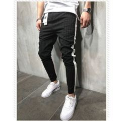 Pompadour - 條紋運動褲