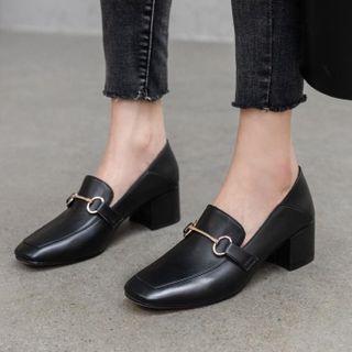Gimme - 粗跟乐福鞋