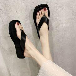 loverlane - Platform Flip-Flops