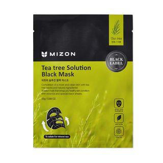 MIZON - Tea Tree Solution Black Mask