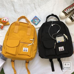 Chestnut Party - Nylon Backpack