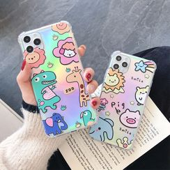 Casei Colour - Iridescent Animal Print Phone Case - iPhone 11 Pro Max / 11 Pro / 11 / XS Max / XS / XR / X / 8 / 8 Plus / 7 / 7 Plus / 6s / 6s Plus