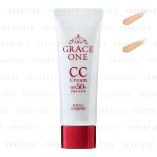 Kose - Grace One CC Cream UV SPF 50+ PA++++ 50g - 2 Types