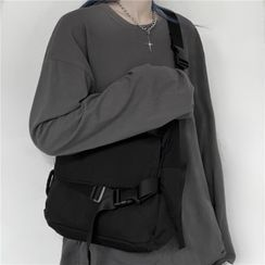 Porstina - Buckled Messenger Bag