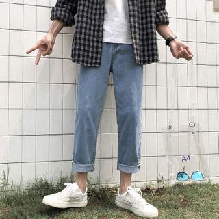 WidoWilder - Washed Straight Leg Jeans
