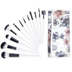 Beautrend - Floral Make-Up Brush Set