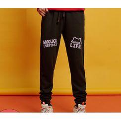 D-SEVEN - Printed Sweatpants