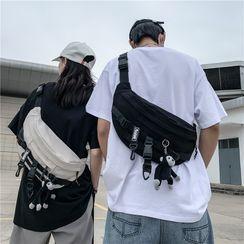Carryme - 饰扣斜背包