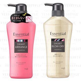 Kao - Essential Smart Shampoo - 2 Types