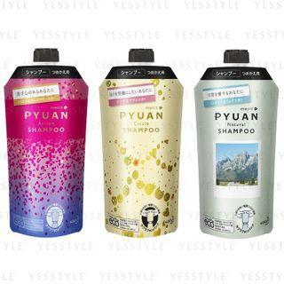 Kao - Merit Pyuan Shampoo Refill 340ml - 2 Types