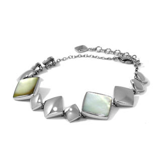 Kamsmak - Squared MOP Bracelet