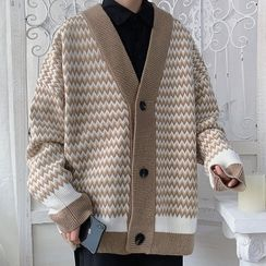 Downtown - Houndstooth Cardigan