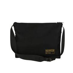 SUNMAN - Applique Canvas Messenger Bag