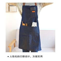 Hyole - Denim apron