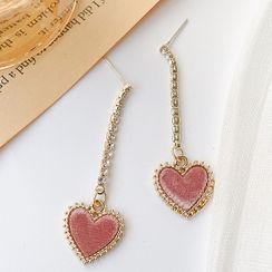 Dollu - Heart Dangle Earring