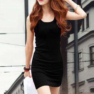 BOSAI - Sleeveless Mini Bodycon Dress