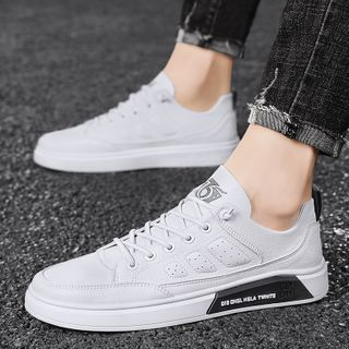 BELLOCK - Lettering Lace Up Sneakers