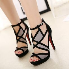 Anran - Strappy High Heel Sandals