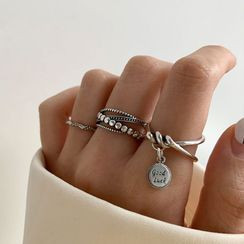 FOON(フーン) - Sterling Silver Open Ring (various designs)