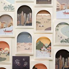 Full House(フルハウス) - daily like-Printed Postcard (various designs)
