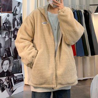 YERGO - 毛毛连帽外套
