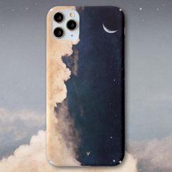 Mobby - Cloud Print Phone Case - iPhone 11 Pro Max / 11 Pro / 11 / XS Max / XS / XR / X / 8 / 8 Plus / 7 / 7 Plus / 6s / 6s Plus