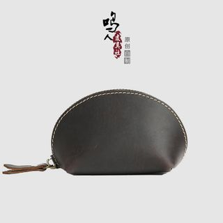 Wavecho - Genuine Leather Coin Pouch